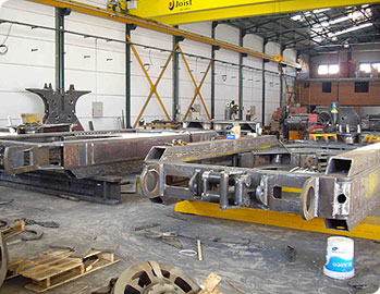 MODEL&CO's factory. Manufacturer of foundation engineering equipment