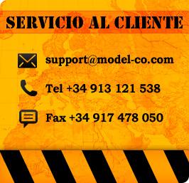 MODEL&CO, atención al cliente. Servicio de postventa de maquinaria de cimentaciones especiales. Tel +34 913 121 538 Fax +34 917 478 050
