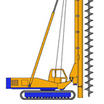 BF15, Continuous Flight Auger (CFA) rig