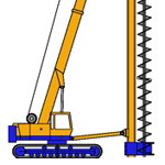 BL10, Continuous Flight Auger (CFA) rig