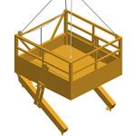 CD23,  Рабочая платформа для бурения уклонов для специальных фундаментов. Вспомогательное оборудование для цементации грунта
