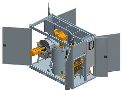 MODEL&CO, manufacturer of enclosed grouting set GSC120