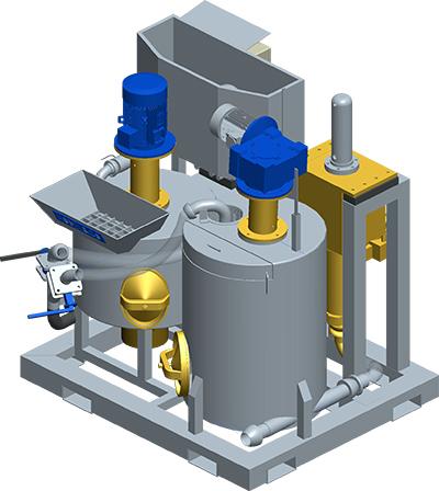 MODEL&CO, производитель Компактный набор по инъецированию GS100S для оборудования для специальных фундаментов