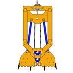 CM4, Механический Грейфер для Стен в грунте