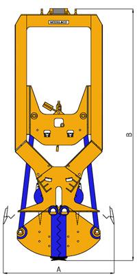 MODEL&CO, производитель Механические Грейфера (тросовые грейферы) CML для  Стена в грунте, основы инженерного оборудования