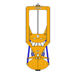 CML300, Mechanical diaphragm wall grab