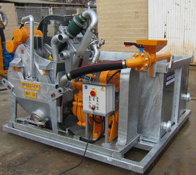MODEL&CO, MD12 Небольшие пескоотделители с несложной циркуляционной системой для работ с специальным фундаментом для оборудования для специальных фундаментов