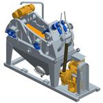MD45, Mini desander of simple cycloning  (Desander for geothermal)