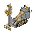 MINITRACK 80, Mini Pile Drill rigs