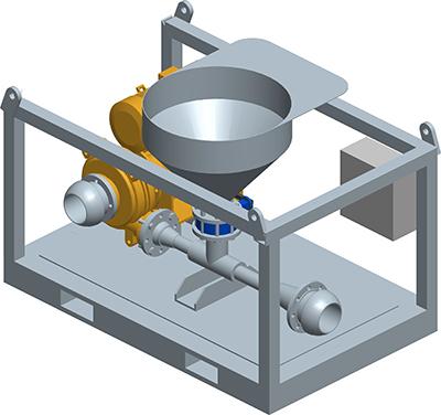 MODEL&CO, производитель Мешалка прерывного действия для буровых растворов Mv5 для оборудования для специальных фундаментовя