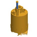 Buckets (drilling tools)