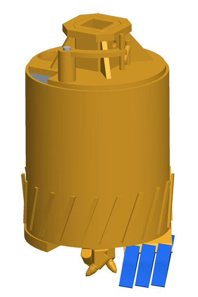 MODEL&CO, manufacturer of buckets for piles CFA and micropiling machinery for foundation engineering. MODEL&CO, manufacturer of foundation engineering equipment