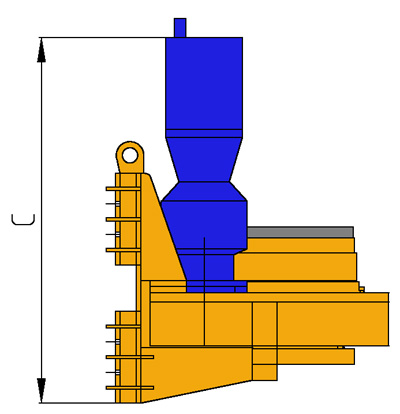 MODEL&CO, manufacturer of rotary head for bored piles R4S for foundation engineering. MODEL&CO, manufacturer of foundation engineering equipment