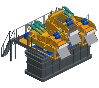 MODEL&CO, производитель Пескоотделители с несложной циркуляционной системой MD600 для оборудования для специальных фундаментов