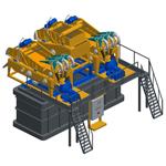 MD600, Пескоотделители с несложной циркуляционной системой
