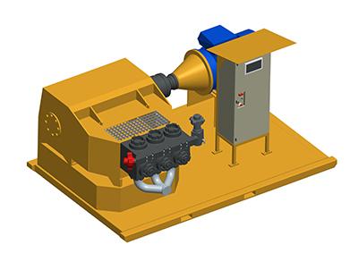 MODEL&CO, fabricante de bomba de inyección de lechadas P116PE para obras de cimentaciones especiales
