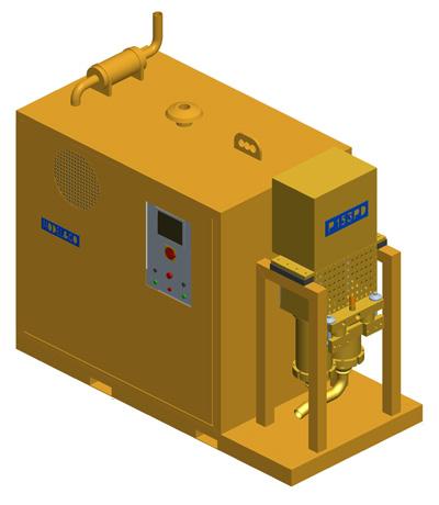 MODEL&CO, fabricante de bomba de alta presión para inyección de lechadas y lodos P153PE para obras de cimentaciones especiales