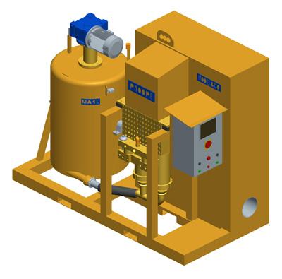 MODEL&CO, fabricante de bomba de inyección de lechadas P100PE para obras de cimentaciones especiales
