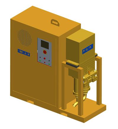 MODEL&CO, fabricante de bomba de inyección de lechadas P140PE para obras de cimentaciones especiales