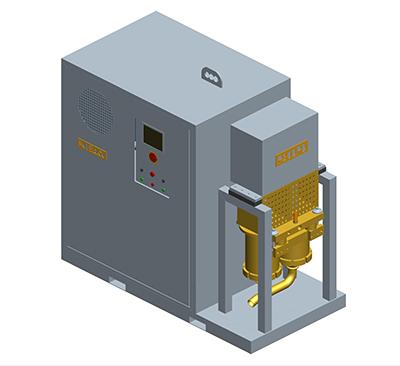 MODEL&CO, fabricante de bomba de Inyección de lechadas y bombeo de lodos de barrido P200PE para obras de cimentaciones especiales
