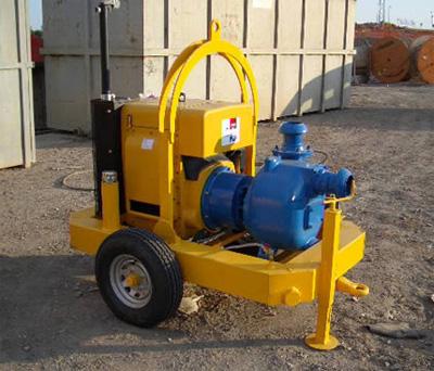 MODEL&CO, fabricante de bombas de lodos diesel autoaspirante P160D para obras de cimentaciones especiales