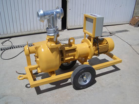 MODEL&CO, fabricante de bombas de lodos eléctrica para circulación P160E para obras de cimentaciones especiales