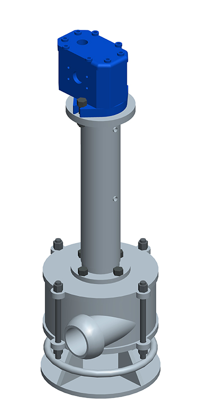 Fabricante de bombas de lodos de extracción EP25 para cimentaciones especiales. MODEL&CO