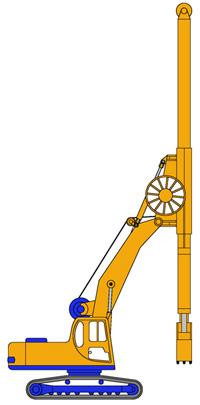 MODEL&CO, fabricante de cucharas hidráulicas MPK-300 de maquinaria de muro pantalla para obras de cimentaciones especiales