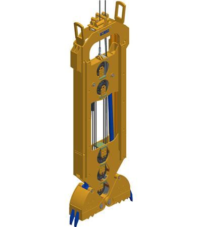 MODEL&CO, fabricante de cucharas mecánicas CME para maquinaria de muro pantalla para obras de cimentaciones especiales