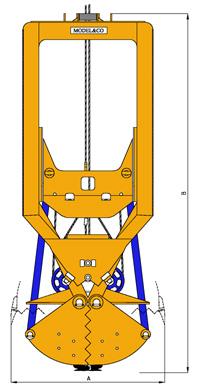 MODEL&CO, fabricante de cucharas mecánicas CML300 para maquinaria de muro pantalla para obras de cimentaciones especiales