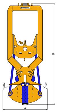 MODEL&CO, fabricante de cucharas mecánicas CMSL para maquinaria de muro pantalla para obras de cimentaciones especiales