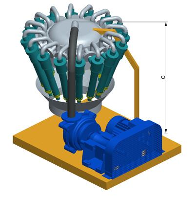 MODEL&CO, fabricante de deslimadores de lodos DS120 para obras de cimentaciones especiales. Fabricante de maquinaria de tratamiento de lodos