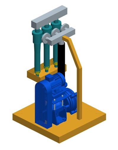 MODEL&CO, fabricante de deslimadores de lodos DS20 para obras de cimentaciones especiales. Fabricante de maquinaria de tratamiento de lodos
