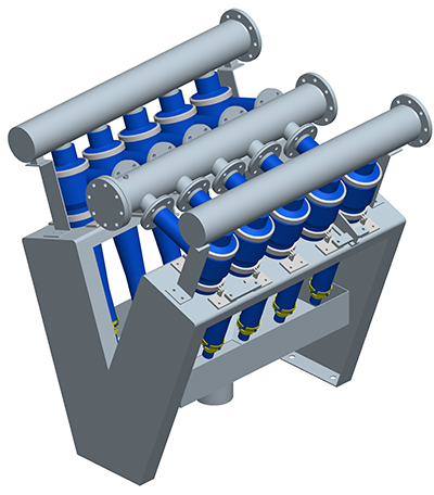MODEL&CO, fabricante de deslimadores de lodos DS250 para obras de cimentaciones especiales. Fabricante de maquinaria de tratamiento de lodos