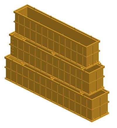 MODEL&CO, fabricante de depósitos telescópicos lodos para cimentaciones especiales. Fabricante de equipos de tratamiento de lodos