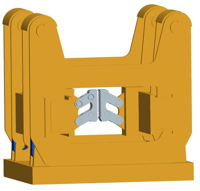 MODEL&CO, fabricante de extractor hidráulico de tubos de junta plana HEP1000 para maquinaria de muro pantalla para obras de cimentaciones especiales