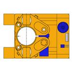 HET600-800, extractor hidráulico de tubos de junta redonda