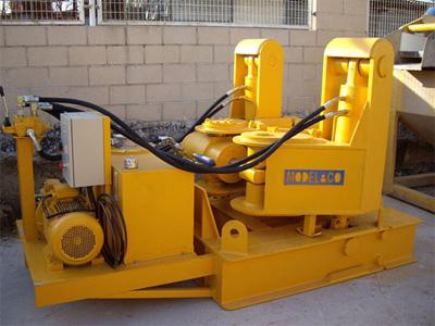 MODEL&CO, fabricante de extractor hidráulico de tubos de junta redonda HET600-800 para maquinaria de muro pantalla para obras de cimentaciones especiales