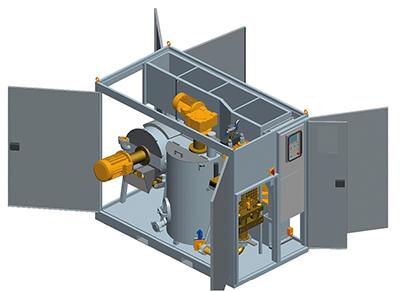 MODEL&CO, fabricante de grupo de inyección de lechadas cerrado GSC120