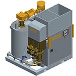 GSB120,  Grupo de inyección de lechadas compacto