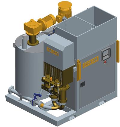 MODEL&CO, fabricante de grupo de inyección de lechadas compacto GSB80