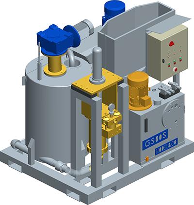 MODEL&CO, fabricante de grupo de inyección de lechadas compacto para cimentaciones especiales. Fabricante de maquinaria de preparación e inyecci&oacutE;n de lechadas