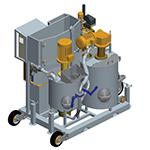 GS120S, Grupo de inyección de lechadas compacto