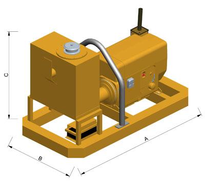 MODEL&CO, fabricante de grupo hidráulico GD60 para maquinaria de muro pantalla para obras de cimentaciones especiales