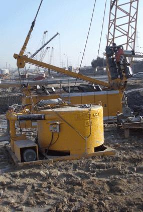 MODEL&CO, fabricante de mezclador discontinuo de lodos de perforación M16 para obras de cimentaciones especiales. Fabricante de maquinaria de tratamiento de lodos