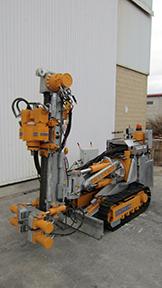 MODEL&CO, fabricante de perforadoras de micropilotes, Minitrack80 de maquinaria  para obras de cimentaciones especiales