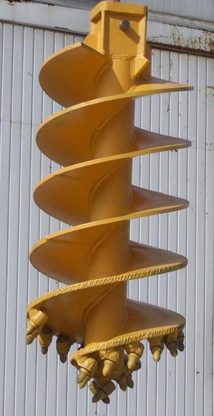 MODEL&CO, fabricante de barrenas para maquinaria de pilotes CFA y pilotes perforados para equipos de cimentaciones especiales