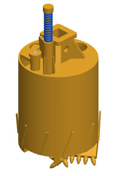 MODEL&CO, fabricante de cazos para maquinaria de pilotes CFA y pilotes perforados para equipos de cimentaciones especiales