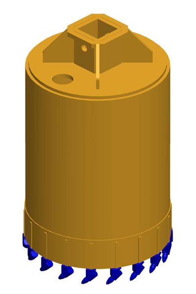 MODEL&CO, fabricante de coronas para maquinaria de pilotes CFA y pilotes perforados para equipos de cimentaciones especiales
