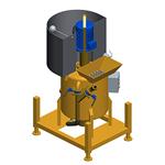 MAC, Mezclador discontinuo de lechadas con depósito de dosificación de agua